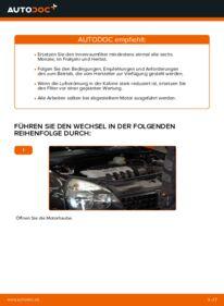 Wie der Wechsel durchführt wird: Innenraumfilter Renault Clio 2 1.2 1.2 16V 1.5 dCi tauschen