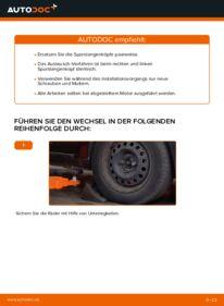 Wie der Wechsel durchführt wird: Spurstangenkopf Renault Clio 2 1.2 1.2 16V 1.5 dCi tauschen