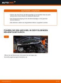 Wie der Wechsel durchführt wird: Bremsbeläge MINI MINI (R50, R53) 1.6 Cooper 1.6 One 1.6 Cooper S tauschen