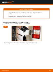 Kā veikt nomaiņu: 1.9 TDI VW Caddy 3 Universālis Degvielas filtrs