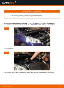 Ako vykonať výmenu: Klinový rebrovaný remen na 1.4 HDi Peugeot 208 1