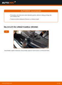 Cum să efectuați înlocuirea: Etrier frana la 1.4 16V Golf 4