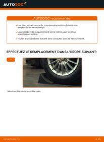 Comment effectuer un remplacement de Amortisseurs sur 1.4 TDCi Ford Fiesta V jh jd