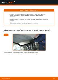 Ako vykonať výmenu: Brzdové Platničky na 2.2 dCi 4x4 Nissan X Trail t30