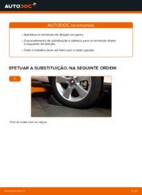 Como realizar a substituição de Ponteiras de Direcção no 1.4 D-4D (NDE150_) Toyota Auris e15