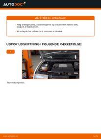 Hvordan man udfører udskiftning af: Luftfilter på 1.4 16V Skoda Fabia 6y5