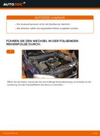 Wie der Wechsel durchführt wird: Zündkerzen Opel Astra g f48 1.6 16V (F08, F48) 1.6 (F08, F48) 1.4 16V (F08, F48) tauschen