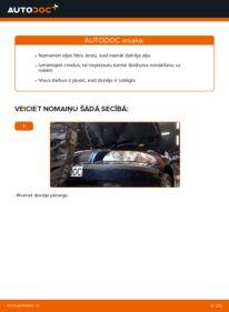 Kā veikt nomaiņu: 2.4 Volvo V70 SW Eļļas filtrs