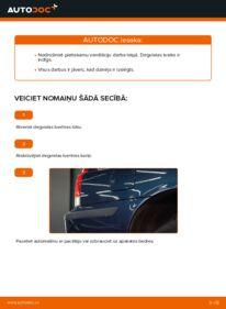 Kā veikt nomaiņu: 2.4 Volvo V70 SW Degvielas filtrs