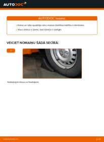 Kā veikt nomaiņu: 1.6 16V (F08, F48) Opel Astra g f48 Svira