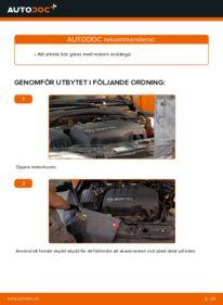 Så byter du Multirem på 1.2 (F08, F68) Opel Corsa C