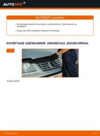 Kuidas välja vahetamist läbi viia: 1.9 TDI VW Sharan 1 Kütusefilter