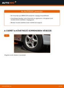 Hogyan végezze a cserét: 523i 2.5 BMW E39 Kerékcsapágy