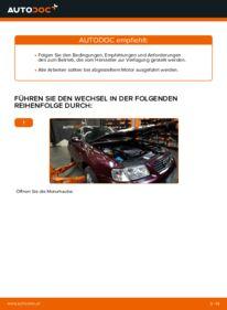 Wie der Austausch bewerkstelligt wird: Luftfilter beim 1.9 TDI Audi A3 8l1