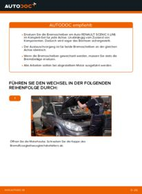 Wie der Wechsel durchführt wird: Bremsscheiben Renault Scenic 2 1.9 dCi 1.5 dCi 1.6 tauschen