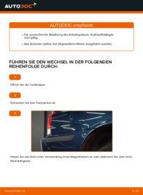 Wie der Wechsel durchführt wird: Kraftstofffilter Volvo V70 SW 2.4 2.4 D5 2.4 T tauschen