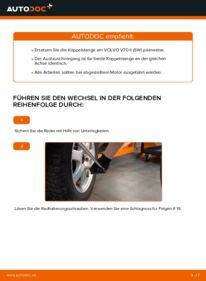 Wie der Wechsel durchführt wird: Koppelstange Volvo V70 SW 2.4 2.4 D5 2.4 T tauschen