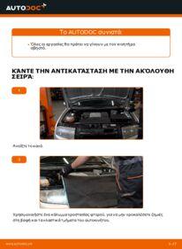 Πώς να πραγματοποιήσετε αντικατάσταση: Λάδι κιβωτίου ταχυτήτων σε 1.4 16V Skoda Fabia 6y5