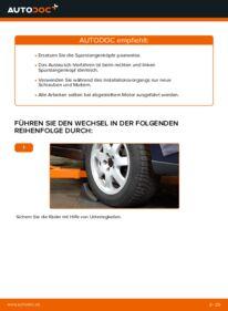 Wie der Wechsel durchführt wird: Spurstangenkopf Volvo V70 SW 2.4 2.4 D5 2.4 T tauschen