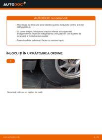 Cum să efectuați înlocuirea: Brat Suspensie la 1.6 TDCi Ford Focus mk2 Sedan