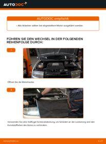 Wie der Wechsel ausgeführt wird: Motorlager beim 1.4 16V Skoda Fabia 6y5