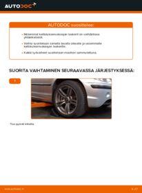 Kuinka vaihtaa Kallistuksenvakaajan Puslat 320d 2.0 BMW 3 Touring (E46) -autoon