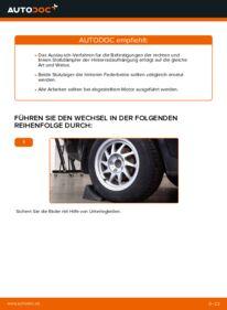 Wie der Wechsel durchführt wird: Domlager Ford Focus mk2 Limousine 1.6 TDCi 1.8 TDCi 1.6 tauschen