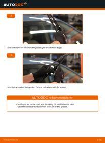Så byter du Torkarblad på 1.5 (NHW2_) Toyota Prius 2