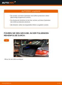 Wie der Wechsel durchführt wird: Heckklappendämpfer BMW E92 335i 3.0 320d 2.0 335d 3.0 tauschen