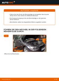 Wie der Wechsel durchführt wird: Bremsbeläge BMW E92 335i 3.0 320d 2.0 335d 3.0 tauschen