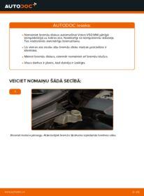 Kā veikt nomaiņu: 2.0 D Volvo v50 mw Bremžu diski
