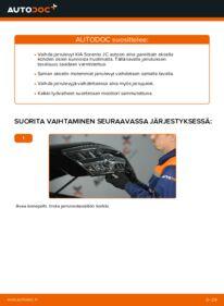Kuinka vaihtaa Jarrulevyt 2.5 CRDi KIA Sorento jc -autoon