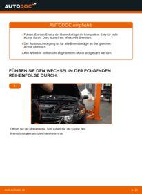 Wie der Wechsel durchführt wird: Bremsbeläge Honda Accord VIII CU 2.0 i (CU1) 2.2 i-DTEC (CU3) 2.4 i (CU2) tauschen