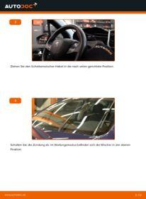 Wie der Wechsel durchführt wird: Scheibenwischer Peugeot 208 1 1.4 HDi 1.2 1.6 HDi tauschen