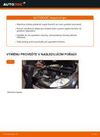 Jak provést výměnu: Uložení Tlumičů na 1.9 D Multijet FIAT BRAVO II (198)