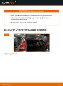 Så byter du Gasfjäder Baklucka på 2.0 D Volvo v50 mw