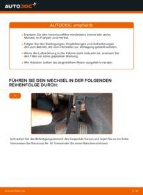 Wie der Wechsel durchführt wird: Innenraumfilter Volvo v50 mw 2.0 D 1.6 D 1.6 D2 tauschen