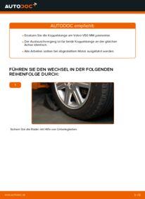 Wie der Wechsel durchführt wird: Koppelstange Volvo v50 mw 2.0 D 1.6 D 1.6 D2 tauschen