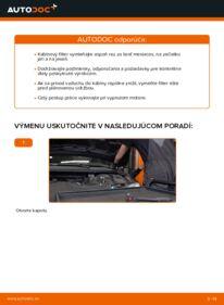 Ako vykonať výmenu: Kabínový filter na 2.0 16V Ford Mondeo bwy