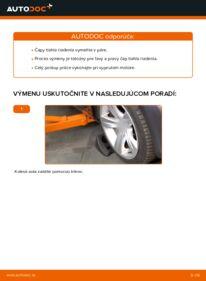 Ako vykonať výmenu: Hlava / čap spojovacej tyče riadenia na 2.0 16V Ford Mondeo bwy