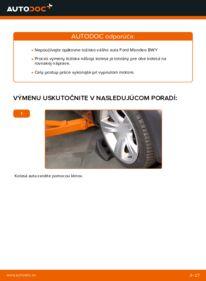 Ako vykonať výmenu: Lozisko kolesa na 2.0 16V Ford Mondeo bwy