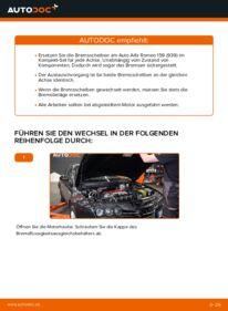 Wie der Wechsel durchführt wird: Bremsscheiben Alfa Romeo 159 Sportwagon 1.9 JTDM 16V 2.4 JTDM 2.0 JTDM tauschen