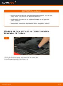 Wie der Austausch bewerkstelligt wird: Bremsbeläge beim 2.0 16V Ford Mondeo bwy