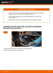 Wie der Wechsel durchführt wird: Bremsbeläge Honda Insight ZE2/ZE3 1.3 Hybrid (ZE28, ZE2) 1.3 Hybrid (ZE2) 1.3 Hybrid (ZE28, ZE2) tauschen