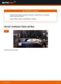Kā veikt nomaiņu: 2.4 Volvo V70 SW Gaisa filtrs