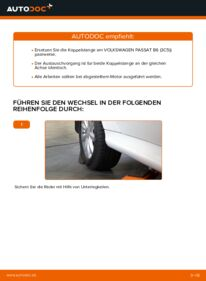 Wie der Wechsel durchführt wird: Koppelstange Mercedes W245 B 180 CDI 2.0 (245.207) B 200 CDI 2.0 (245.208) B 170 1.7 (245.232) tauschen