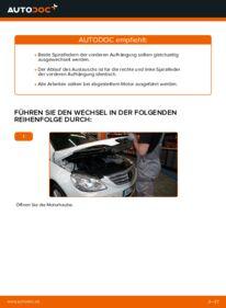 Wie der Wechsel durchführt wird: Federn Mercedes W245 B 180 CDI 2.0 (245.207) B 200 CDI 2.0 (245.208) B 170 1.7 (245.232) tauschen