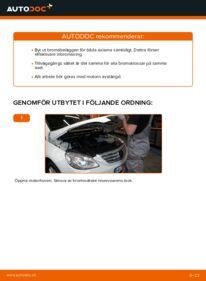 Så byter du Bromsbelägg på B 180 CDI 2.0 (245.207) Mercedes W245