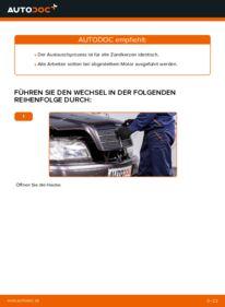 Wie der Wechsel durchführt wird: Zündkerzen Mercedes W202 C 180 1.8 (202.018) C 250 2.5 Turbo Diesel (202.128) C 220 D 2.2 (202.121) tauschen
