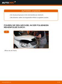 Wie der Wechsel durchführt wird: Zündkerzen Mercedes W245 B 180 CDI 2.0 (245.207) B 200 CDI 2.0 (245.208) B 170 1.7 (245.232) tauschen